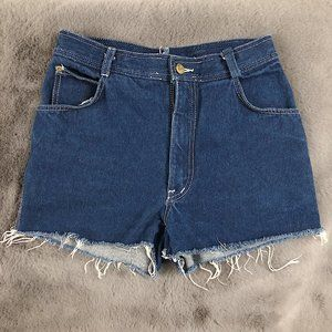 Authentic Vintage High Waisted Jean Shorts